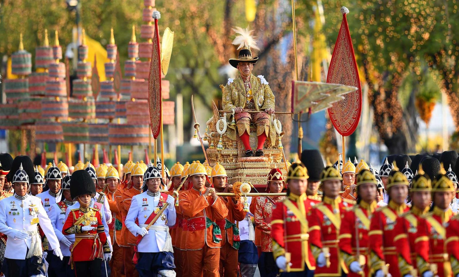 In photos: Thailand crowns its new King
