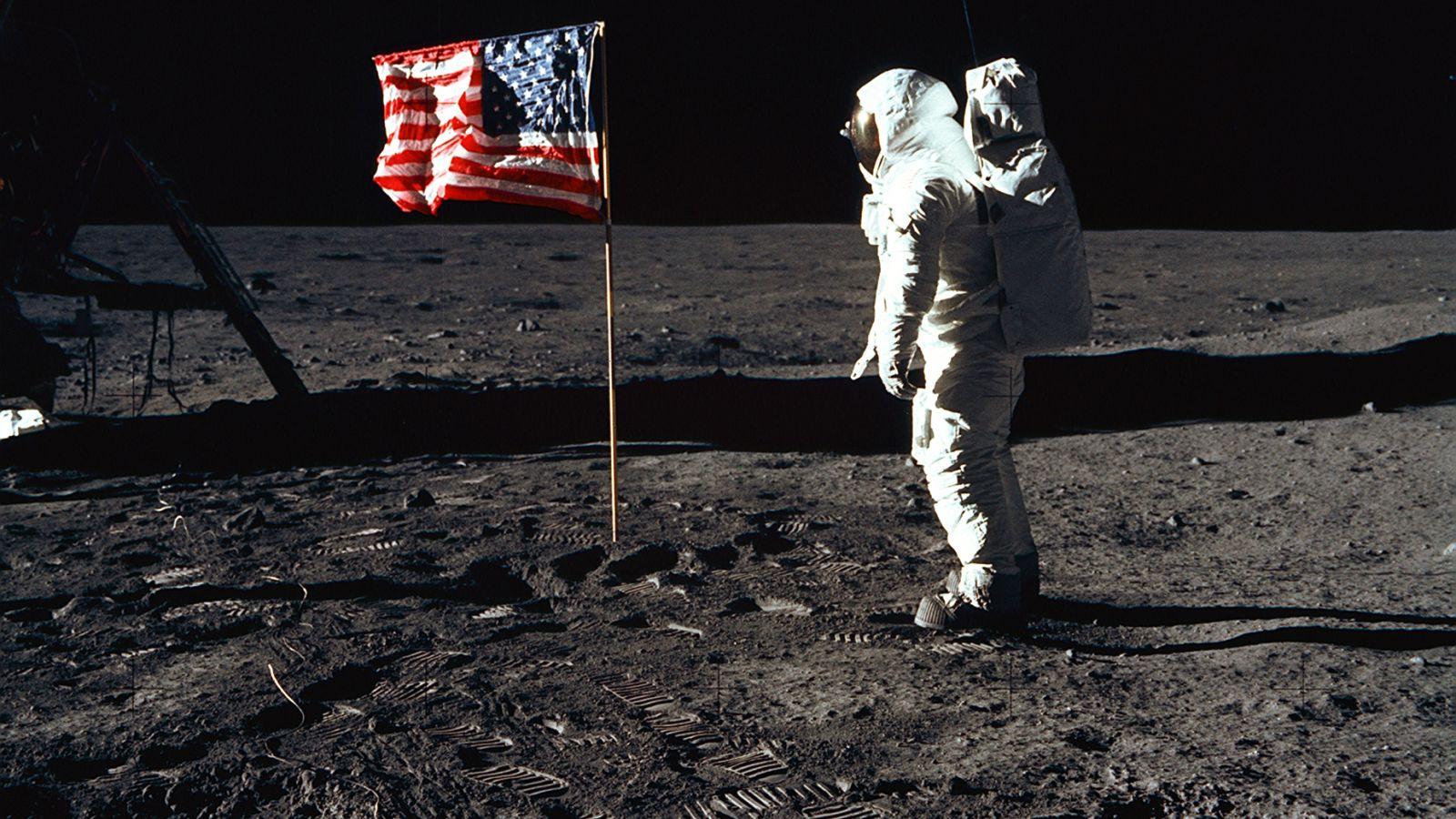 The Apollo 11 moon landing, in photos