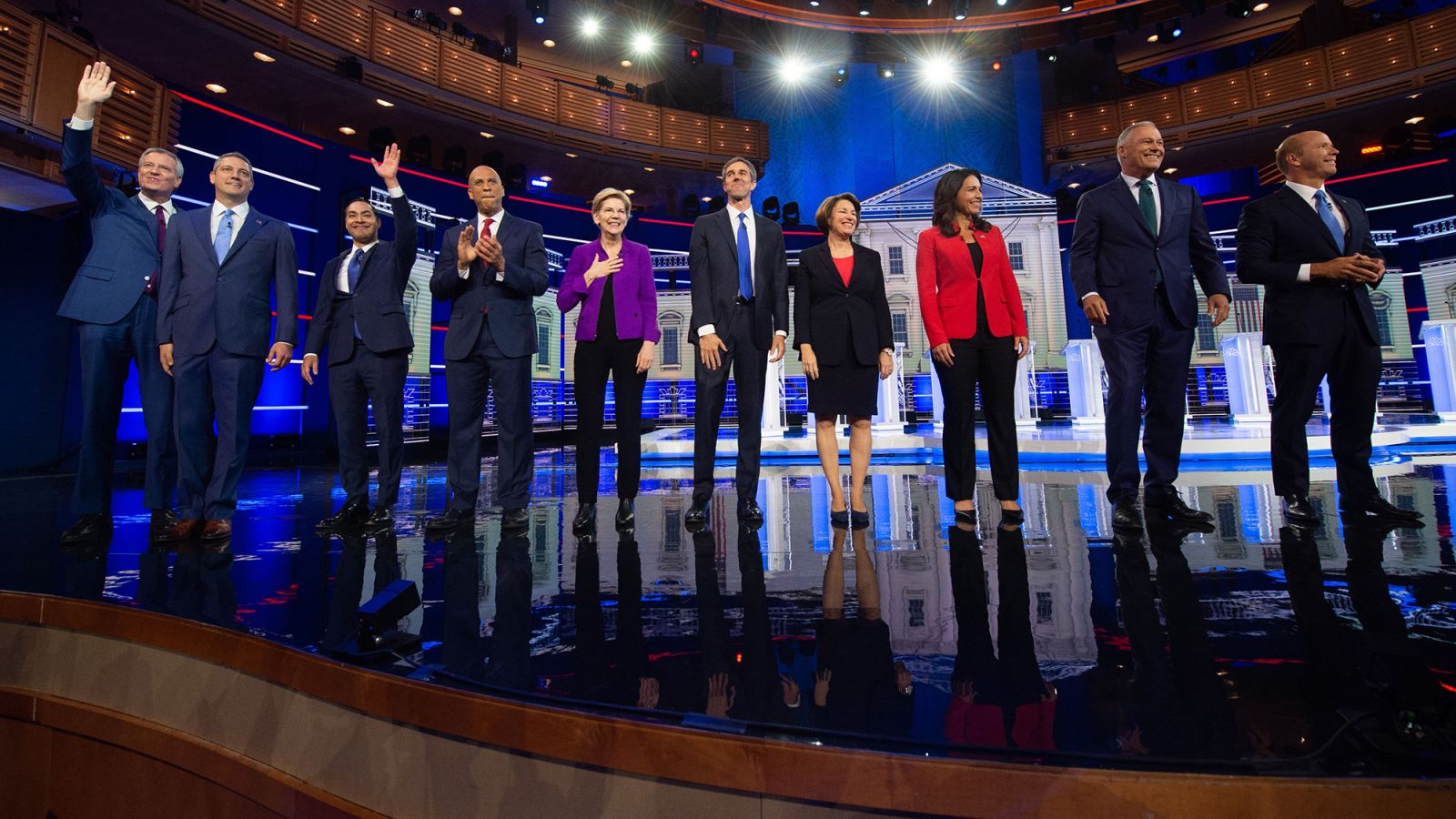 In pictures: The first Democratic debates