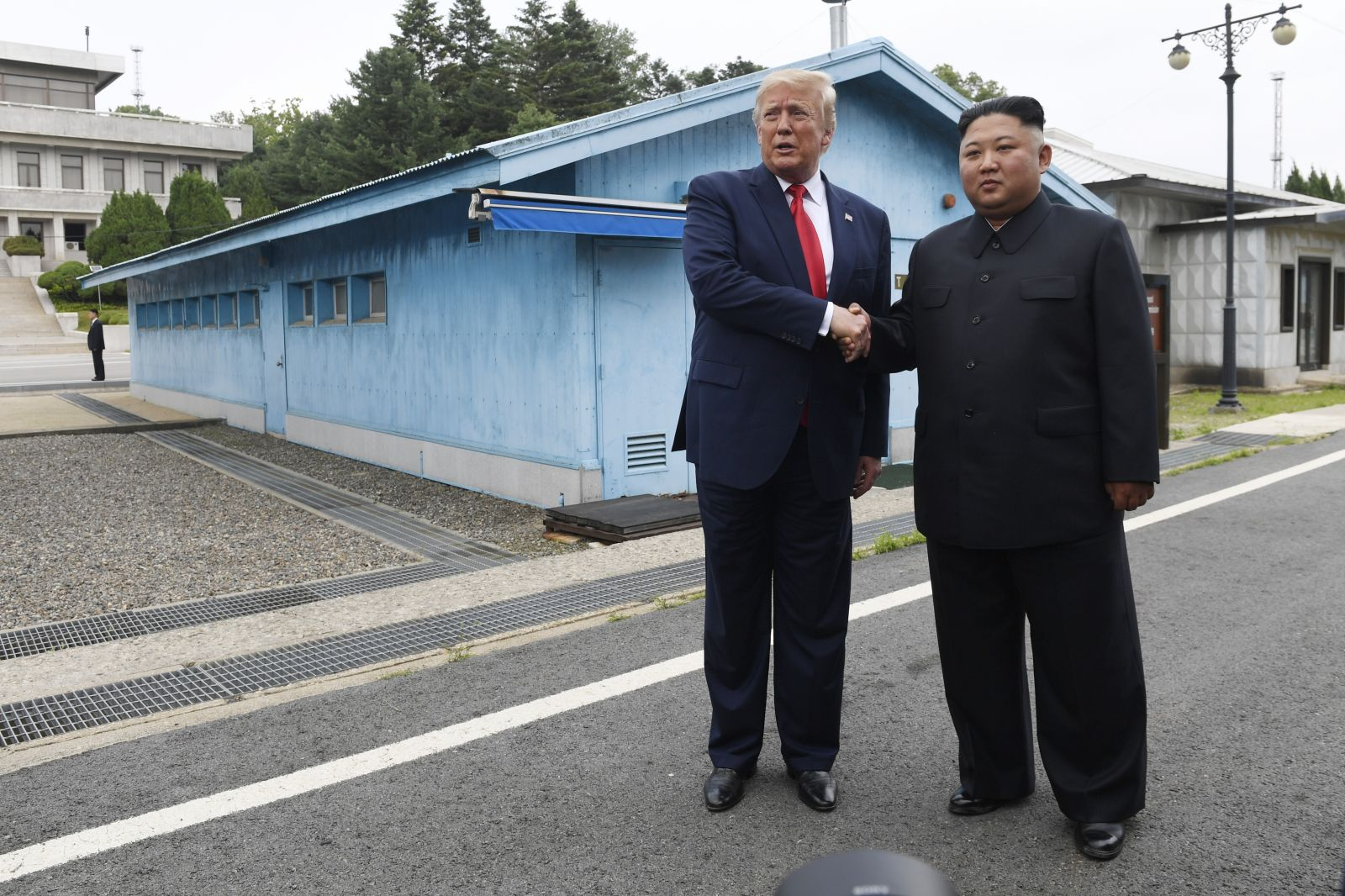 In Pictures: Historic meeting between Trump and Kim at the DMZ