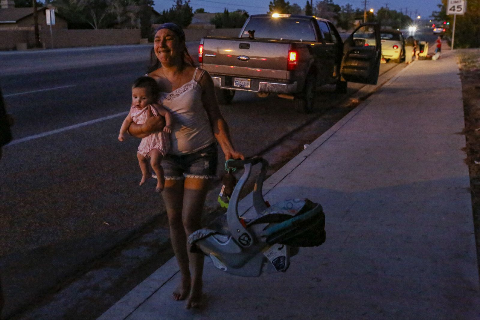 In pictures: Southern California hit by 7.1 magnitude earthquake