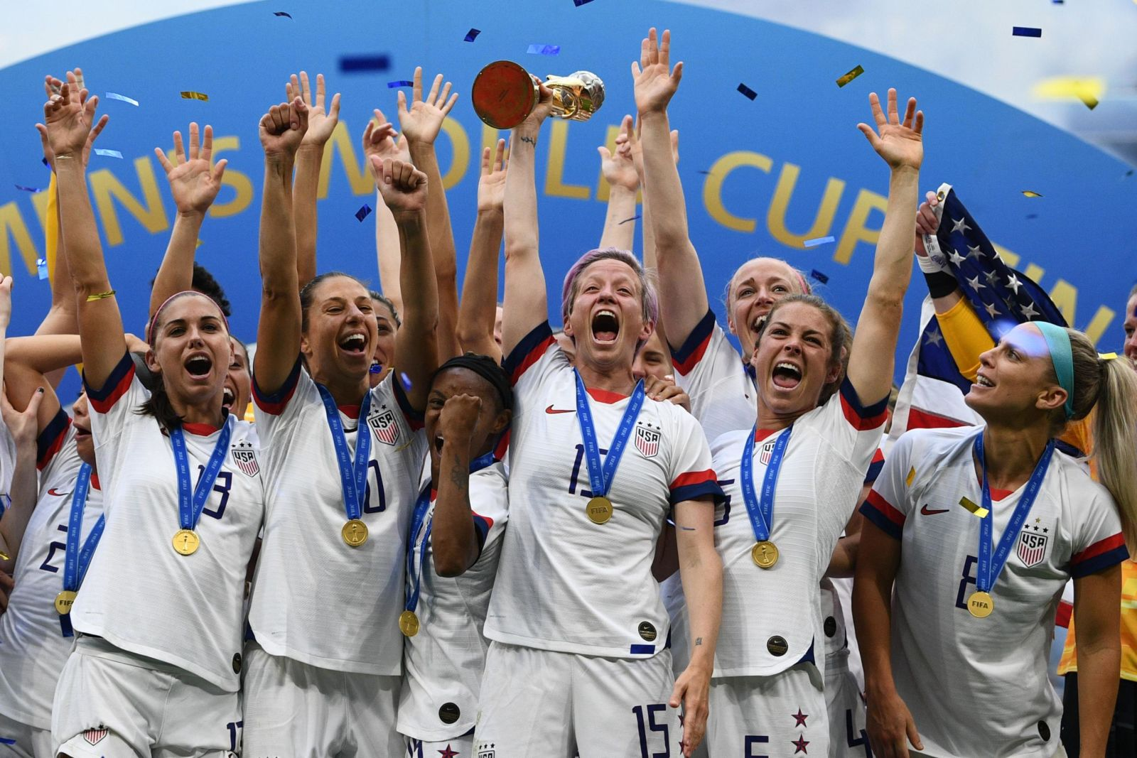 In pictures: US women win World Cup
