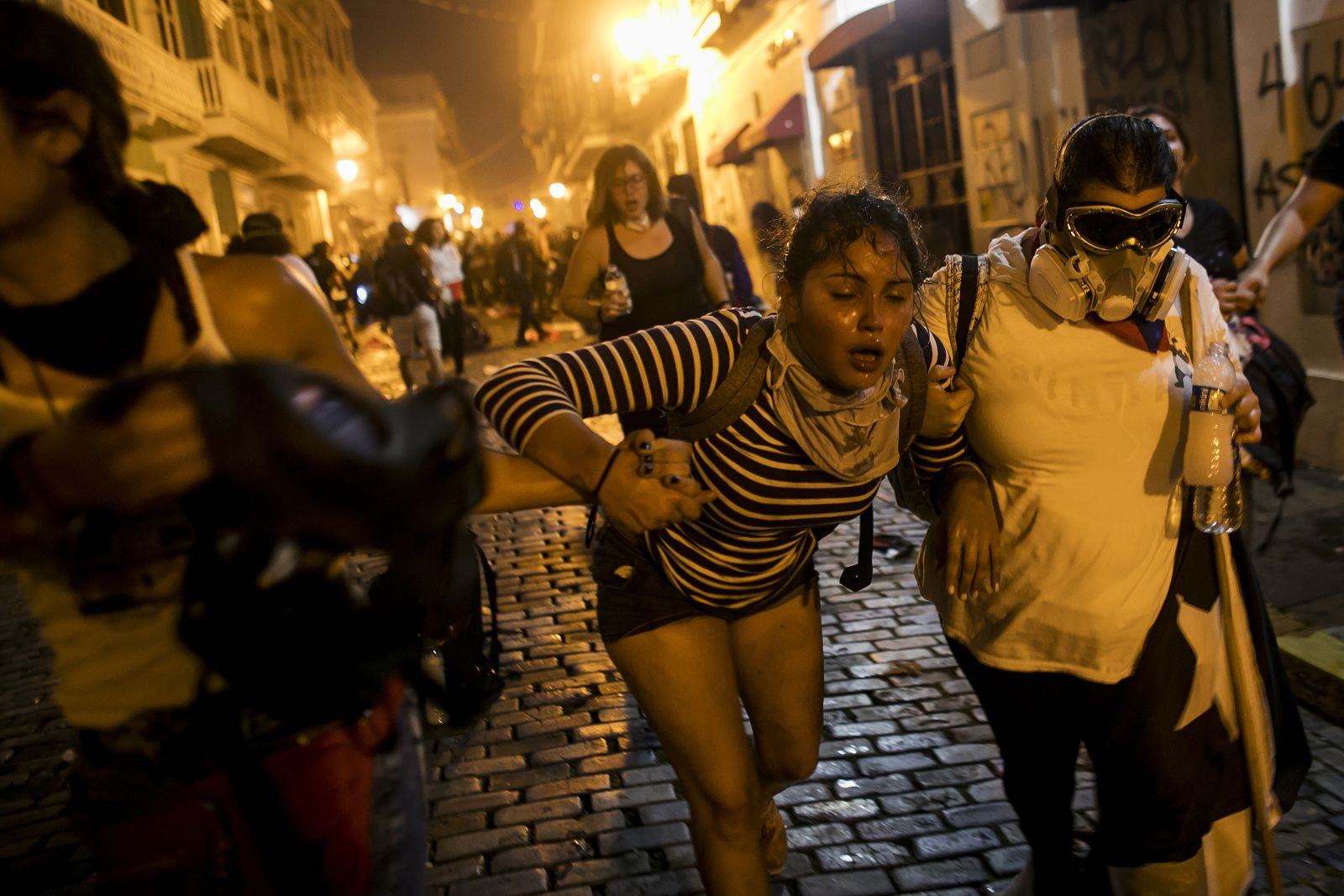 In pictures: Puerto Rico in protest