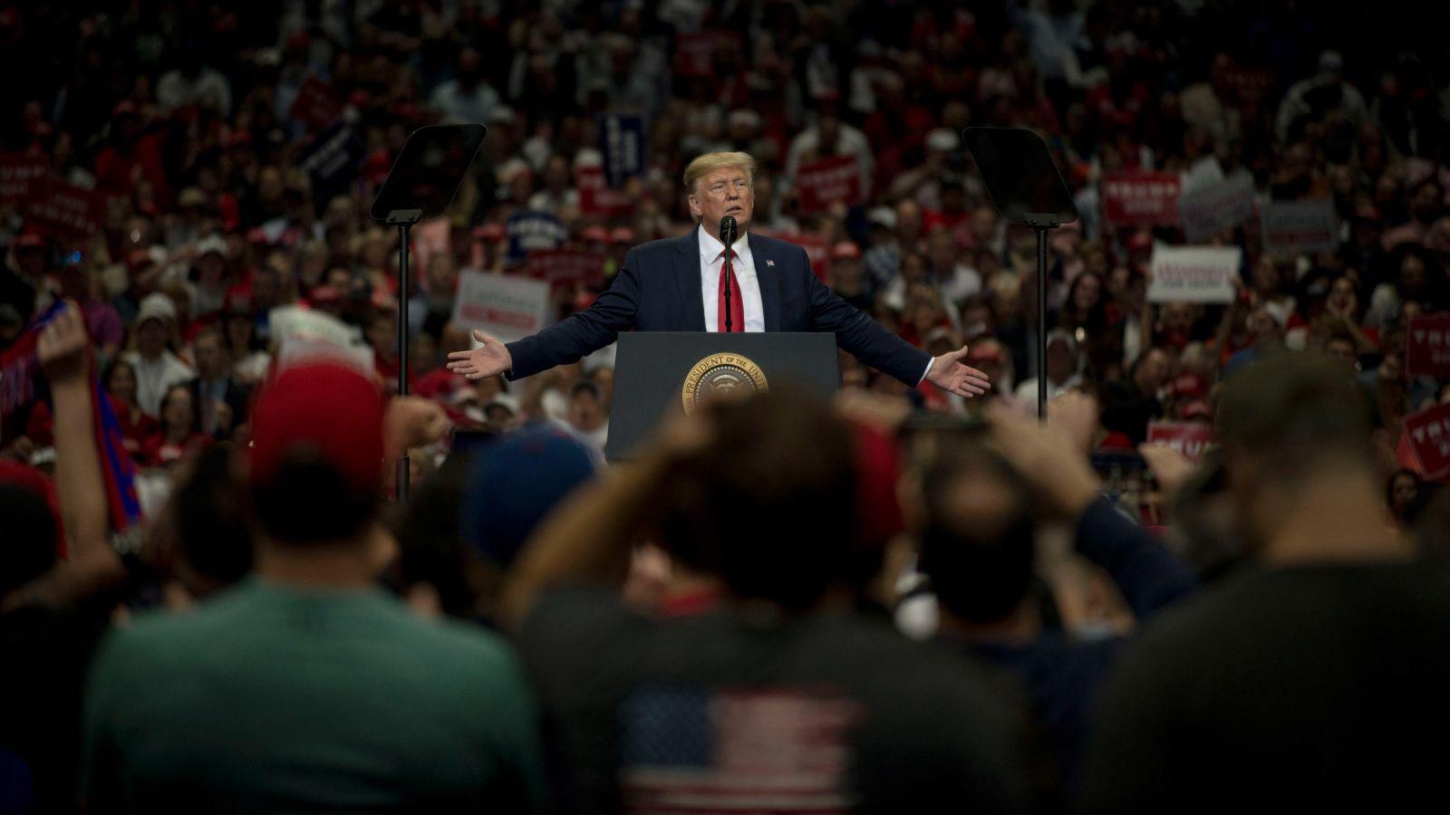 Inside Trump's rally in Dallas