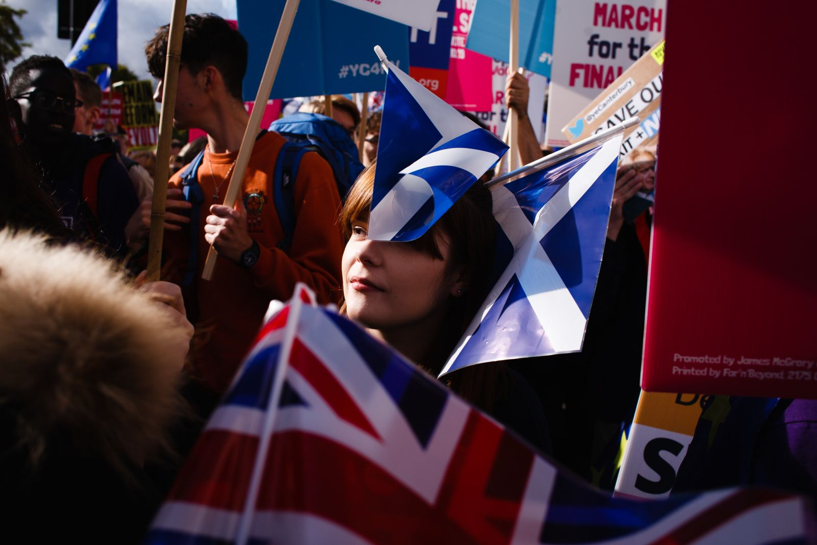 In photos: Thousands march for second Brexit referendum