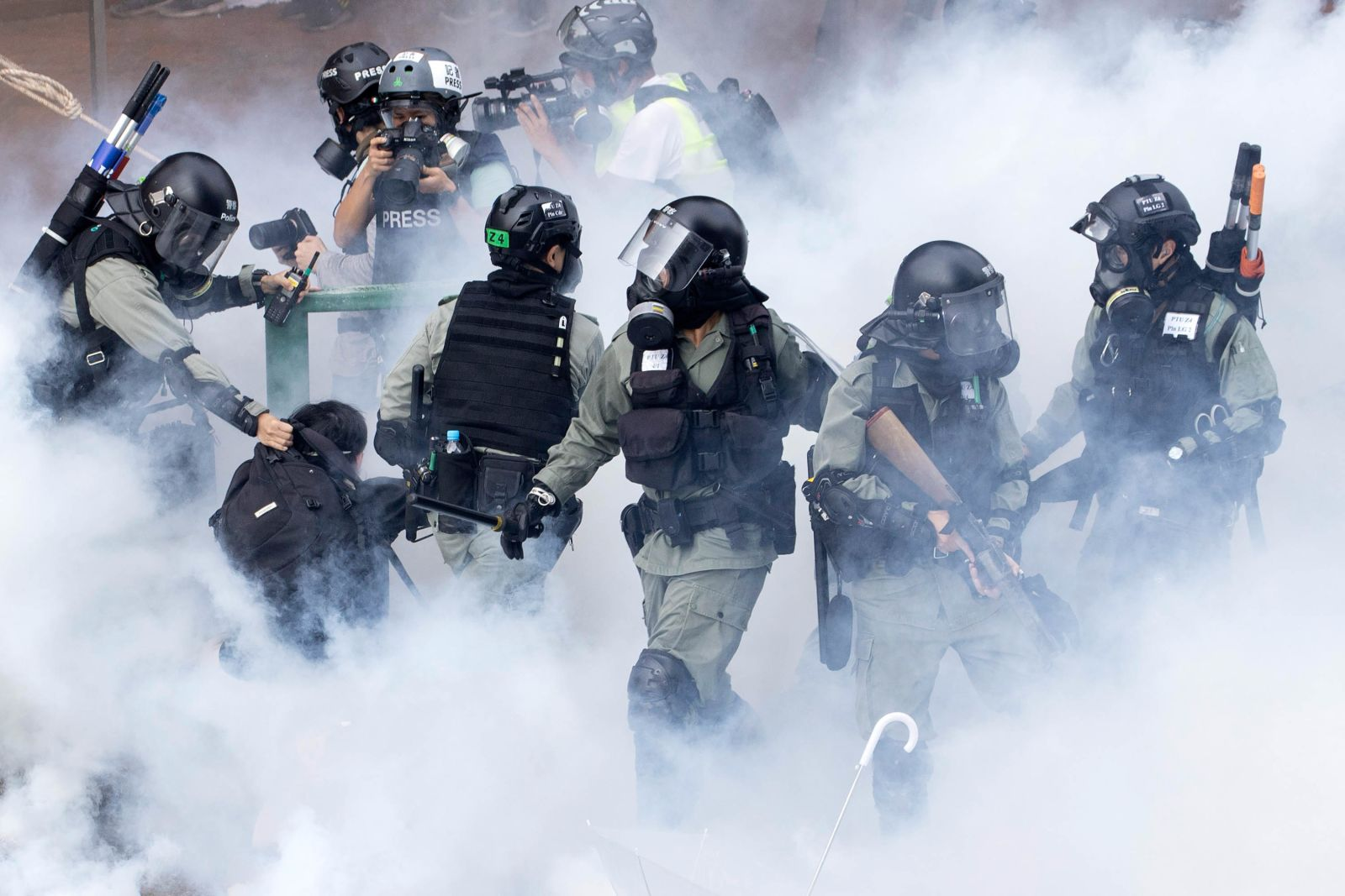 In pictures: Hong Kong unrest