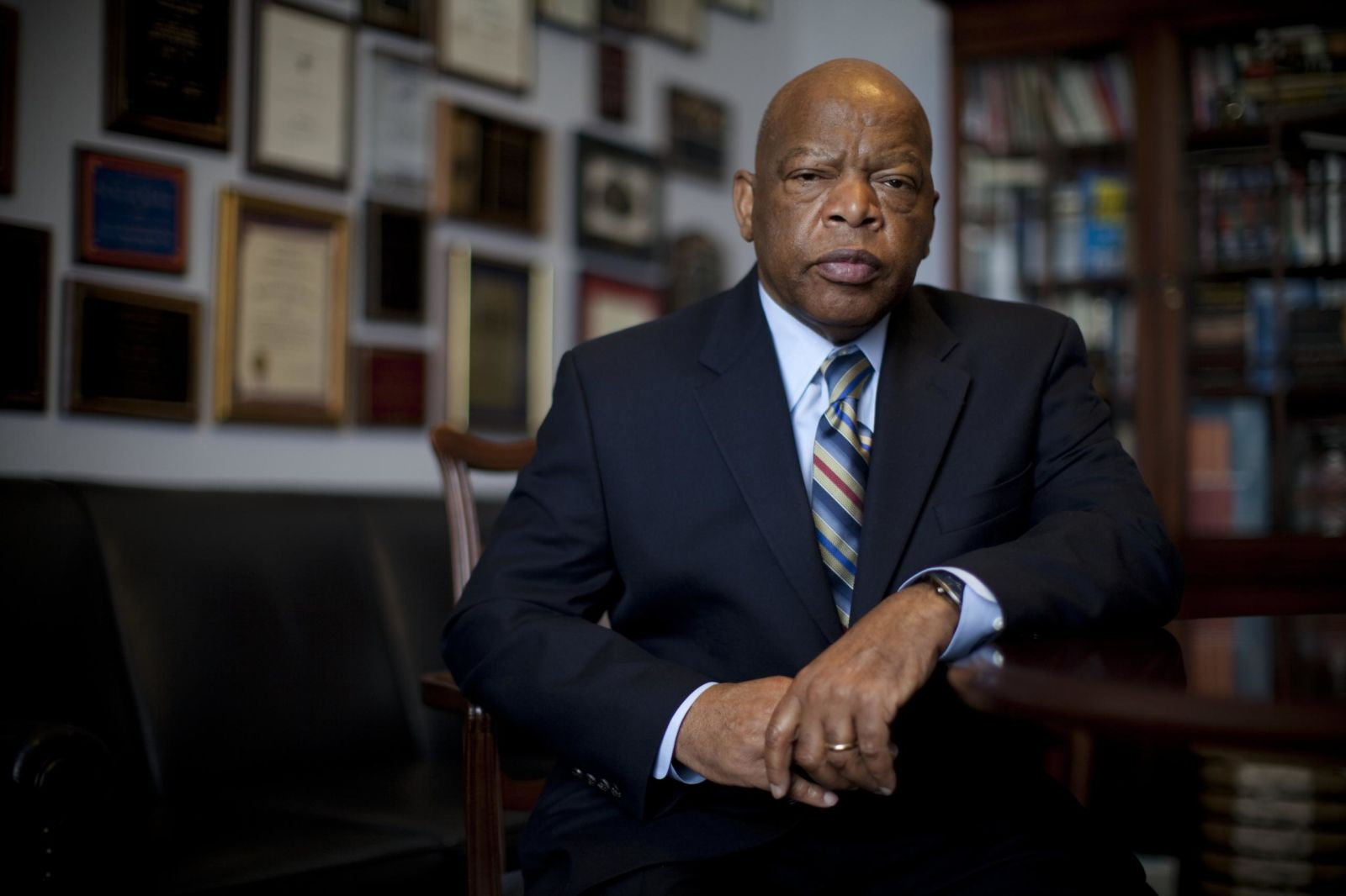 John Lewis' life in pictures