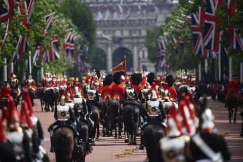 In photos: Trooping the Colour