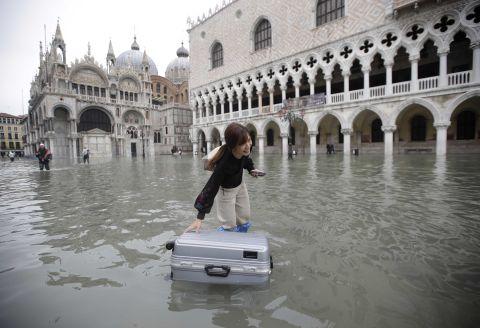 Venice Underwater: Massive Floods Engulf City