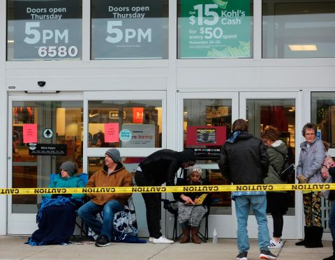 In Pictures Black Friday Shopping