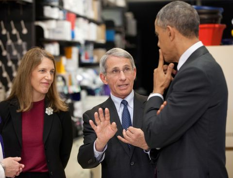 Photos: Dr. Anthony Fauci's career under six US presidents