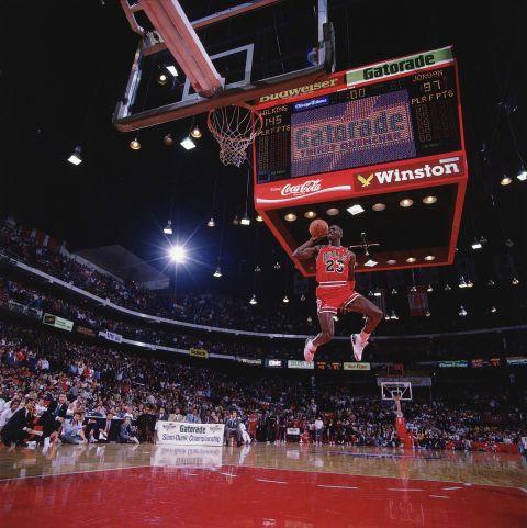 In pictures: When 'Air Jordan' took flight