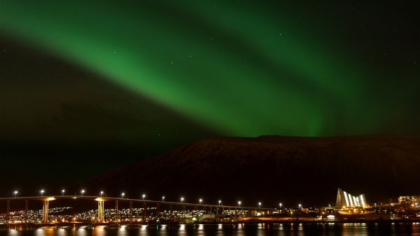 Tromso: One of the world's best spots for northern lights.