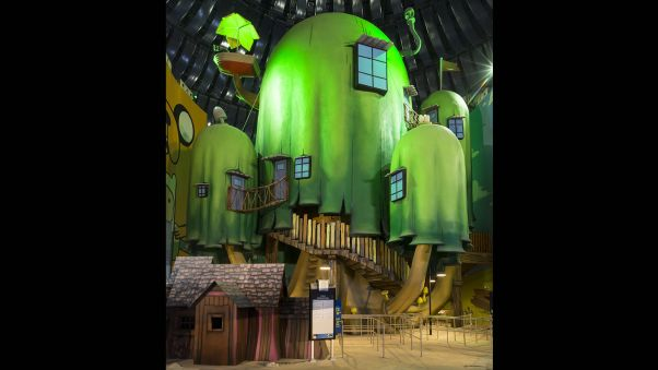 img world of adventures cartoon network tree house - Biggest Treehouse In The World 2016