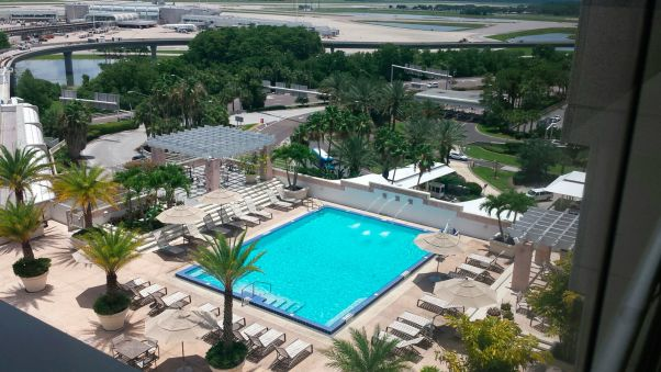 Hyatt Regency Orlando International Airport Swimming Pool Part 49