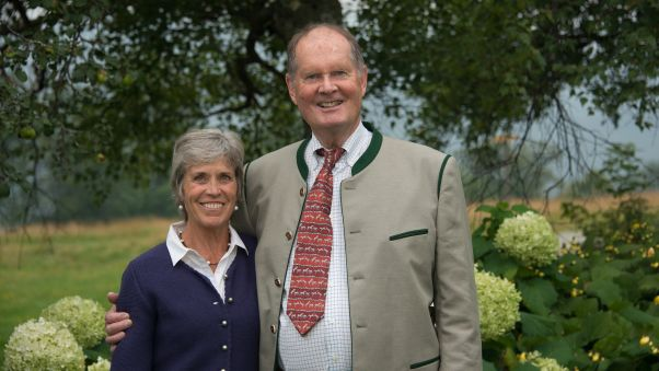 Johannes and Lynne von Trapp RESTRICTED