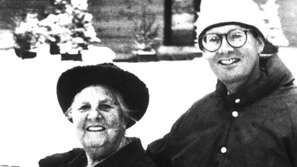 Maria and Johannes von Trapp RESTRICTED