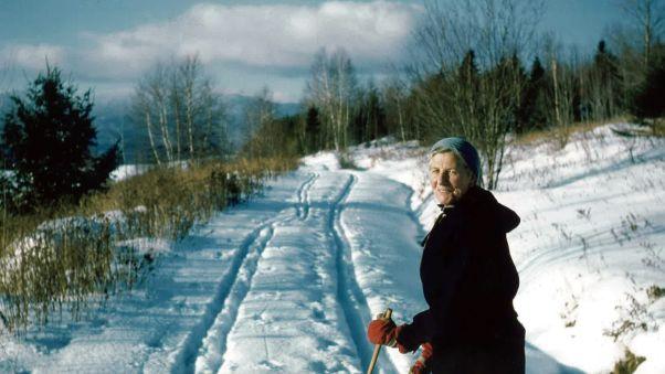 Maria von Trapp skiing RESTRICTED