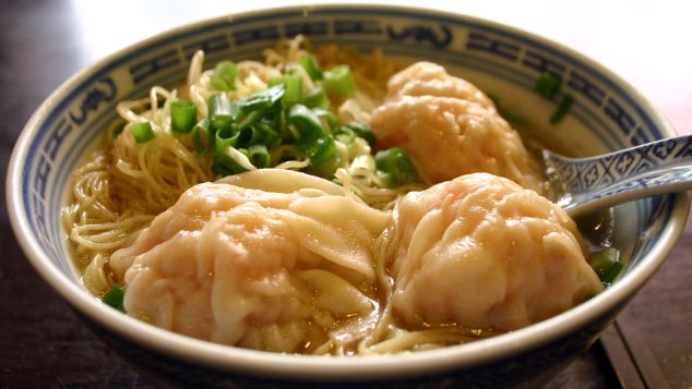 Wonton mee. China's great gift to Southeast Asia.