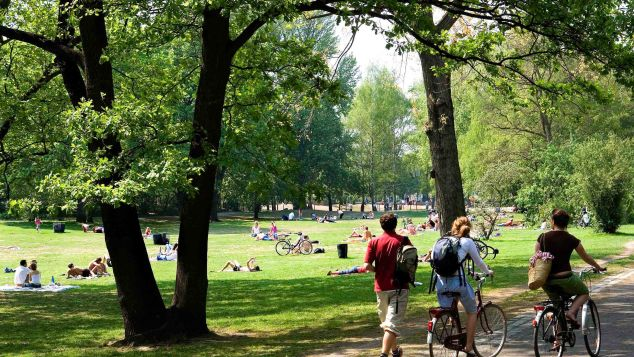 Tiergarten Park is another public park in Berlin with designated areas to go nude.