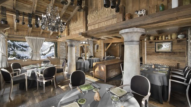 Best ski resorts for food, dining and restaurants: La Bouitte in France's Three Valleys has three Michelin stars