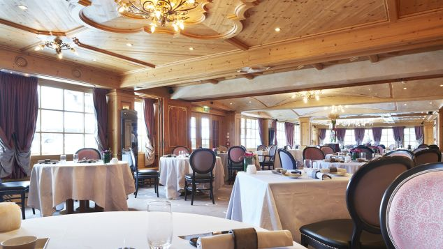 Best ski resorts for food, dining and restaurants: Le Chabichou in Courchevel in the Three Valleys in France has two Michelin stars