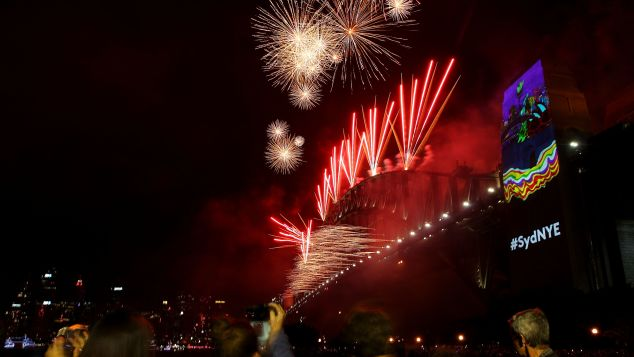 The fireworks display on New Year's Eve on Sydney Harbour is famous for a reason.