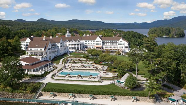 The Sagamore opened in 1883, and it's listed on the National Register of Historic Places.