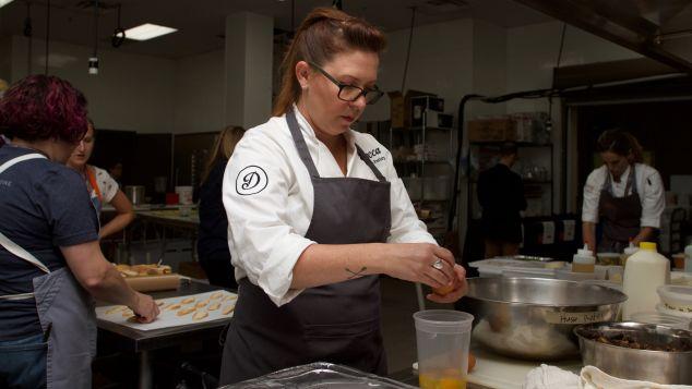 Chef Annie Pettry.