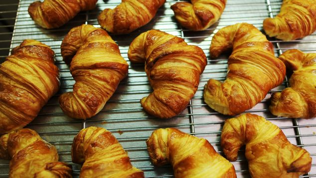 Croissants in France