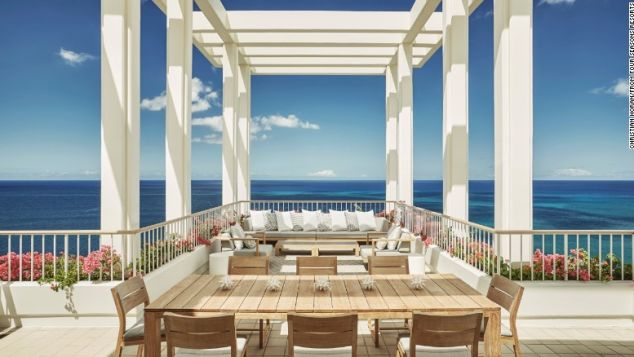 Yoga, cocktails, whale watching. Worthy pursuits right from your terrace.