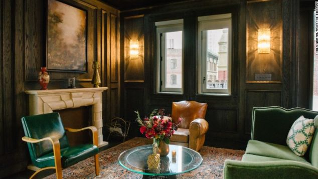 The Beekman recently completed two penthouse suites in the turrets of its 1883 building.