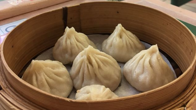 Dumplings at Xiao Long Bao restaurant - Richmond, Canada