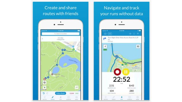 Best travel apps RunGo