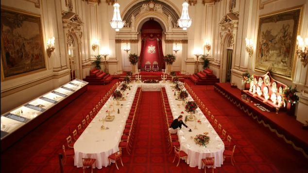 Buckingham Palace - Ballroom