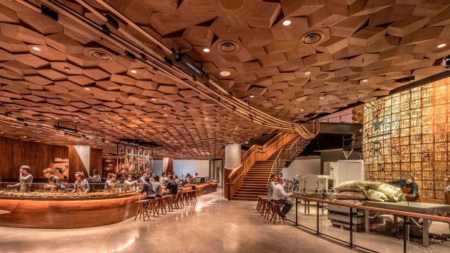 Starbucks Reserve Roastery in Shanghai