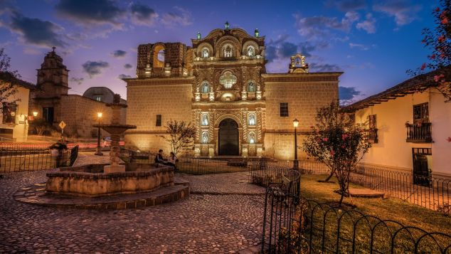 The Peruvian city of Cajamarca is a cultural hotspot known for baroque churches, including Belen --pictured here.