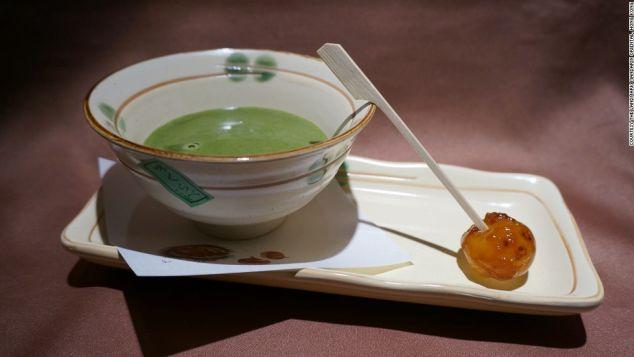 Green Tea Martini by non-mixologist Takumi Watanabe.