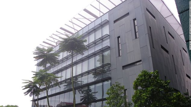 Bishan Library is designed to resemble a tree house.