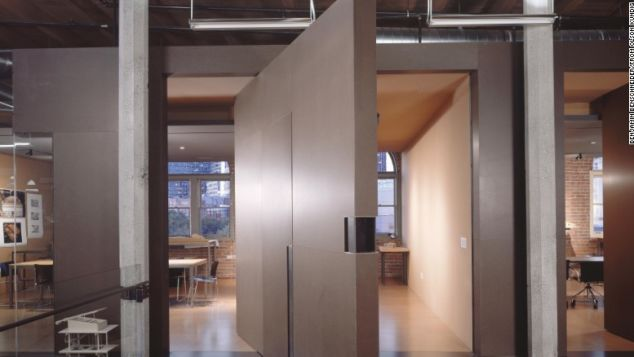 Olson Kundig's sleek offices are located in the historic Pioneer Square neighborhood.