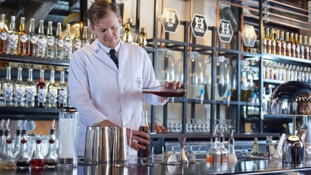 himkok -Odd Strandbakken Bar Supervisor