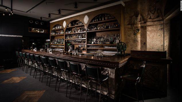 6. The Clumsides world best bar awards