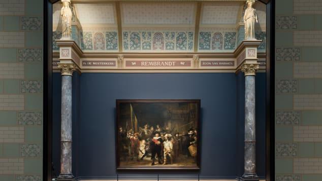 The Rijksmuseum's centerpiece.