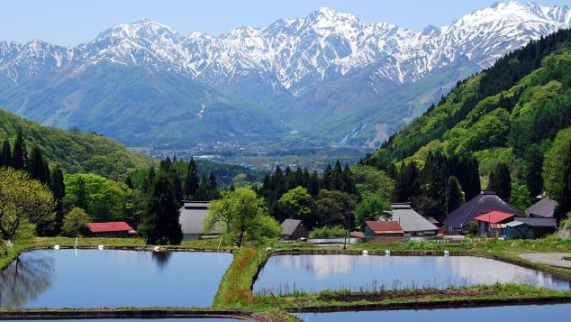 đẹp Nhật Bản Aoni Khu vực Hakuba làng