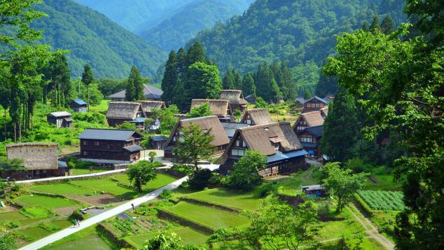 đẹp Nhật Bản Gokayama