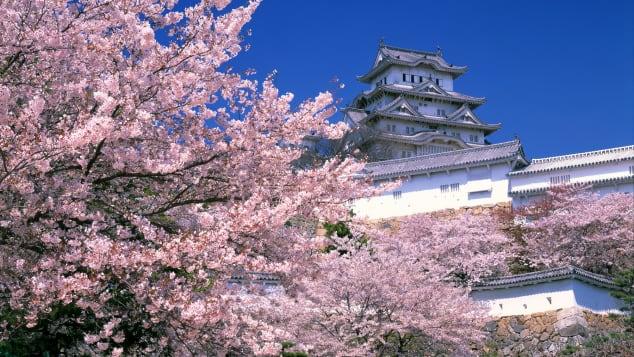lâu đài đẹp của Nhật Bản Himeji