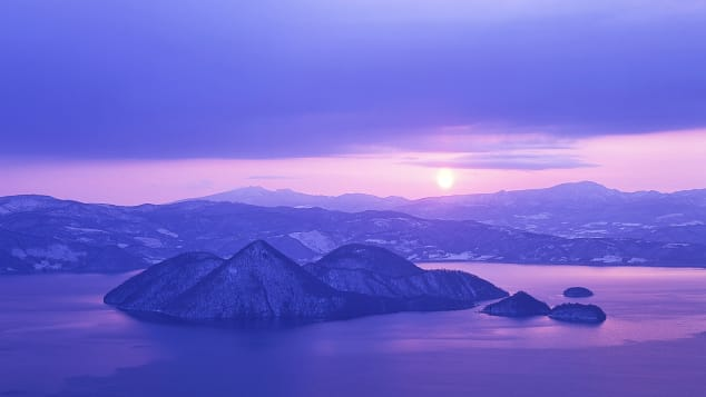 đẹp Nhật Bản hồ Toya-ko