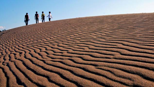 Nhật Bản tottori cồn cát 2
