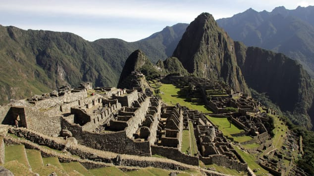 The Inca citadel of Machu Picchu is Peru's most-visited site.