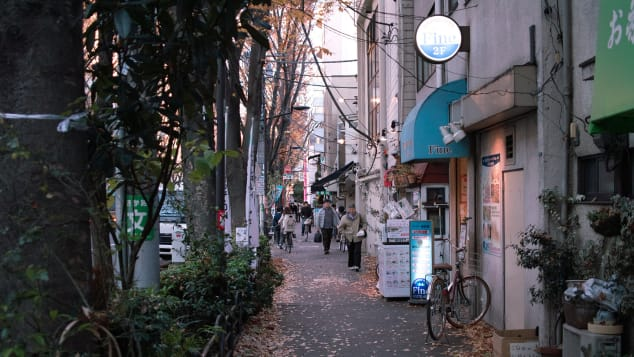 The streets of Asagaya.